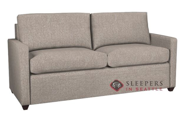 The Terra 2-Cushion Condo Sleeper in Woolco Beige (Queen)