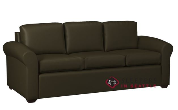 Lazar Industries Eclipse 3-Cushion Leather Sofa