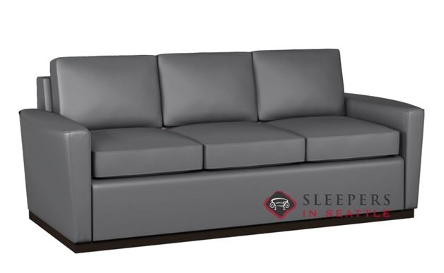 Lazar Harmony 3-Cushion Leather Sofa