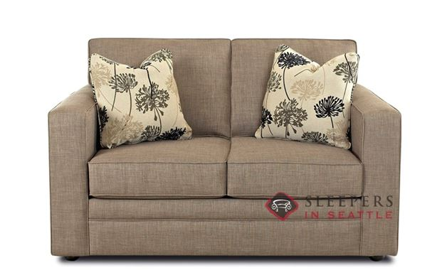 customize and personalize boston twin fabric sofa by savvy