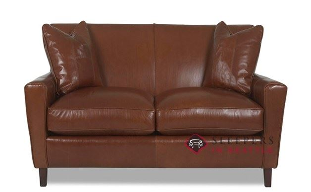 Glasgow Leather Loveseat