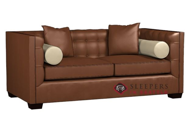 Lazar Industries Tommy Leather Condo Sofa
