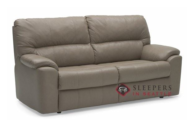 Palliser Yale Top-Grain Leather Full Sleeper Sofa
