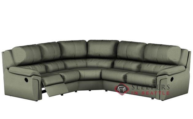 Palliser Daley Reclining True Sectional (Power Upgrade Available)