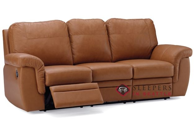 Palliser Brunswick Dual Reclining Leather Sofa
