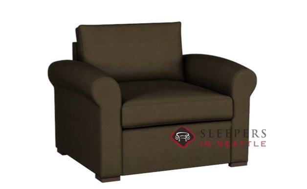 Lazar Industries Eclipse Leather Earth Designs Sleeper (Chair)