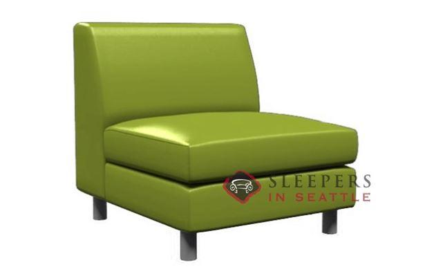Lazar Industries Ross Leather Armless Chair