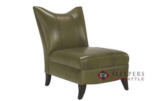 Lazar Industries Prague II Leather Armless Chair