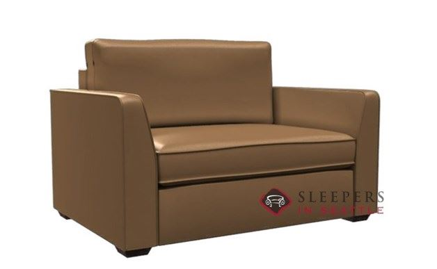 Lazar Earth Designs Strata Leather Sleeper (Chair)