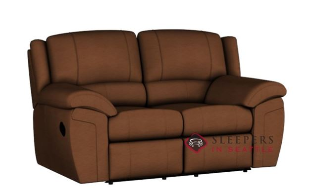 Palliser Daley Dual Reclining Leather Loveseat