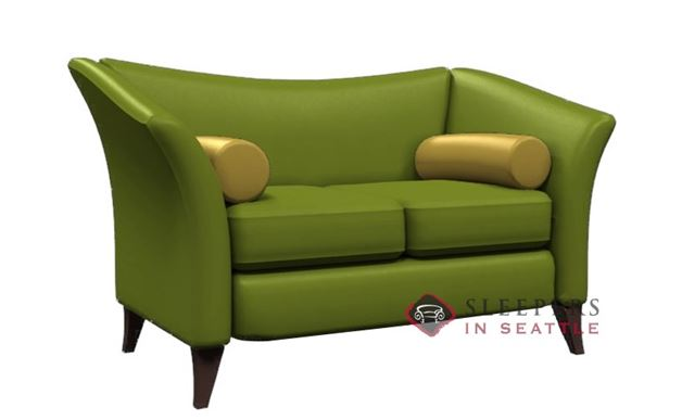 Lazar Industries Prague II Leather Loveseat