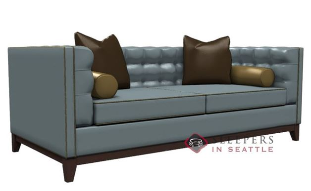 Lazar Jared Leather Condo Sofa