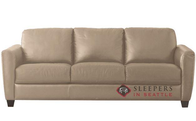 Natuzzi B592 Leather Sleeper in Matera Rope (Queen)