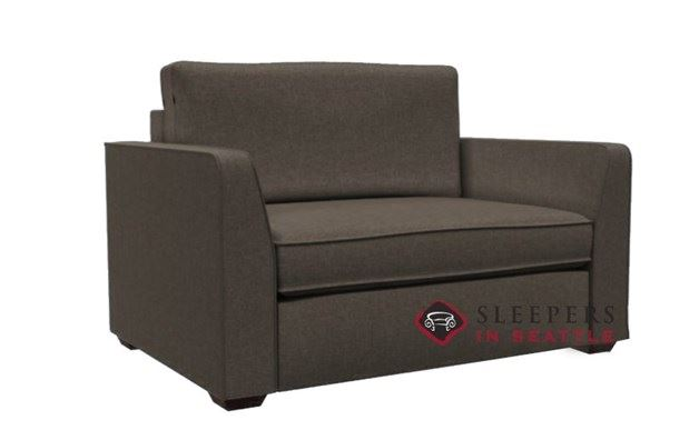 Lazar Earth Designs Strata Sleeper in Scan Truffle (Chair)