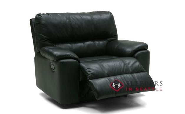 Palliser Yale Rocking and Reclining Leather Chair