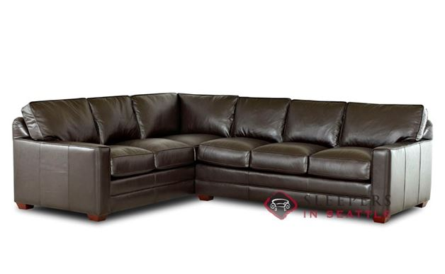 Savvy Palo Alto Leather True Sectional