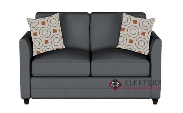 Savvy Valencia Sleeper in Microsuede Charcoal (Twin)