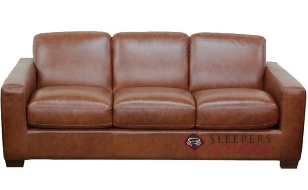 Natuzzi Sleep Solutions B534 Sleeper in Matera Chestnut (Queen)