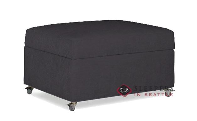 Lazar Industries Pelham Paragon Ottoman Sleeper in Blaine Magnet (Cot)