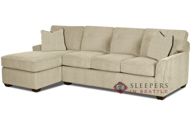 Savvy Gold Coast Chaise Sectional Sleeper in Hilo Flax