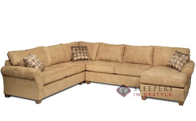 Stanton 320 U-Shape True Sectional Sleeper Sofa (Full)