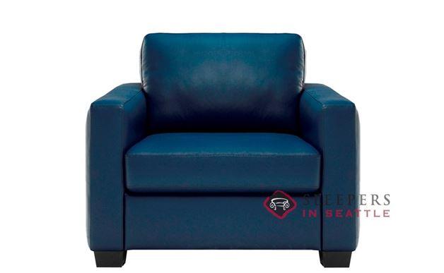 B735-003: Natuzzi Editions Roya Leather Chair