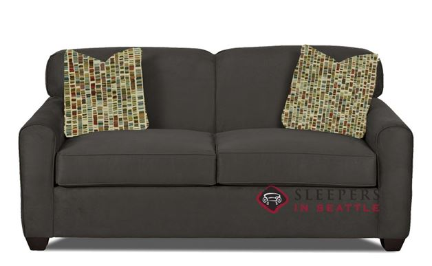 Zurich Full Sleeper Sofa in Dumdum Charcoal (Full)
