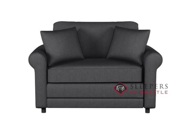202 Sleeper Sofa in Jitterbug Gray (Twin)