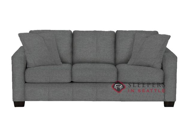 customize and personalize 702 queen fabric sofa by stanton