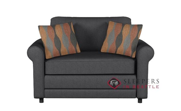 The Stanton 202 Sleeper Sofa in Jitterbug Gray (Twin)