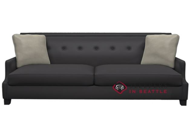 Bernhardt Interiors Franco Leather Sofa