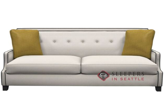 Bernhardt Interiors Franco Leather Sleeper in 162-000 (Queen)