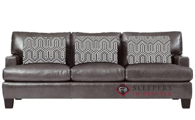 Bernhardt Interiors Denton Leather Sleeper in 255-011 (Queen)