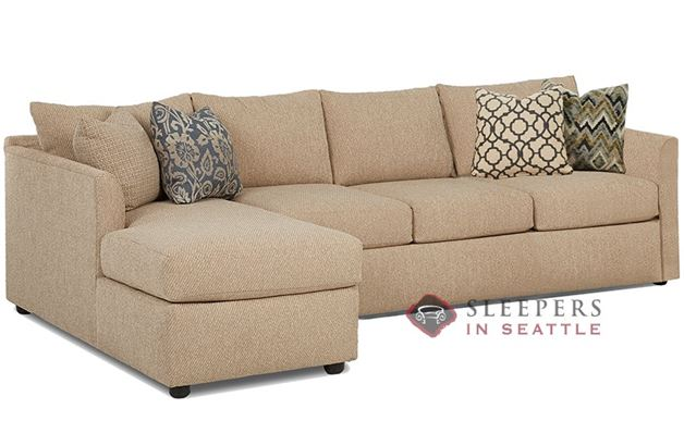 Savvy Aventura Chaise Sectional Sofa (Queen)