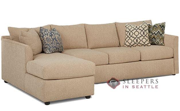 Savvy Aventura Chaise Sectional Sofa (Queen)