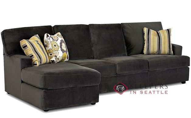 Savvy Mercer Island Chaise Sectional Sleeper (Queen)
