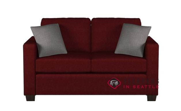 Quick ship 702 twin fabric sofa by stanton fast shipping for Bella berry chaise