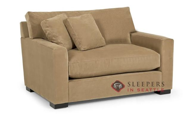 customize and personalize 681 twin fabric sofa by stanton