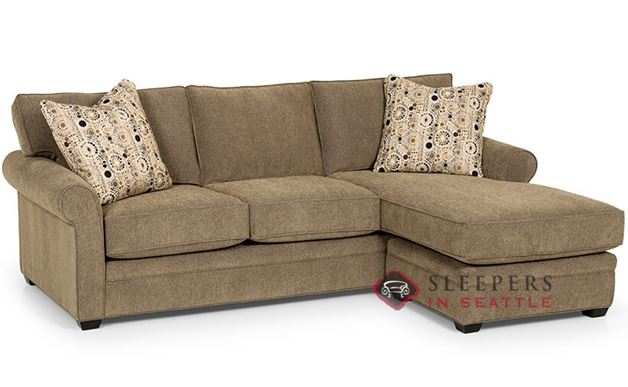 Stanton 283 Chaise Sectional Queen Sleeper Sofa
