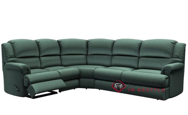 Palliser Harlow Reclining True Sectional Sleeper Sofa