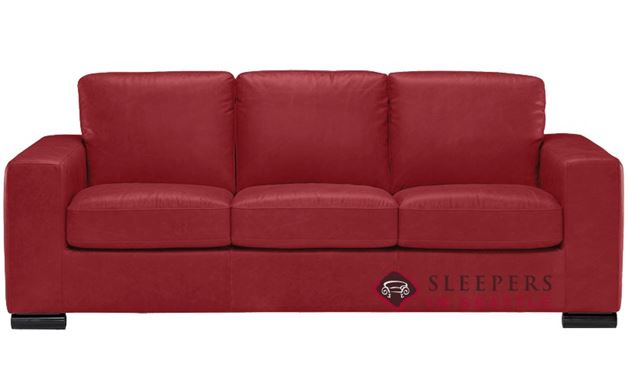 Natuzzi B534 Sleeper in Denver Red (Queen)