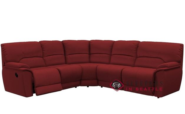 Palliser Dallin Reclining True Sectional Sleeper