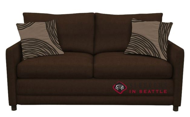 Stanton 200 Sleeper Sofa in Stoked Chocolate (Full)