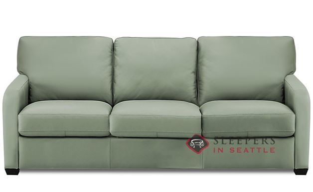 Palliser Westside Leather Sleeper Sofa (Queen)