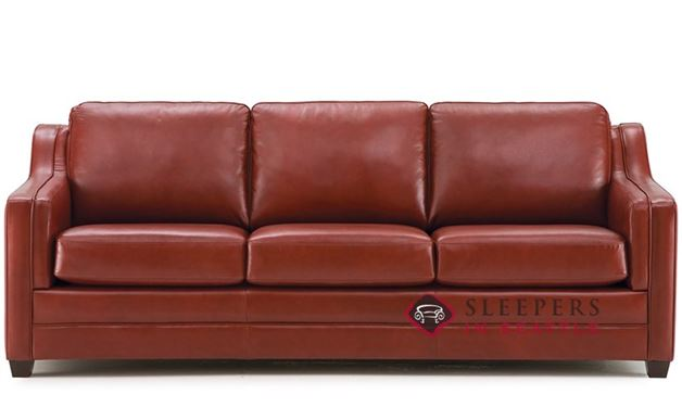 Palliser Corissa Leather Sleeper Sofa (Queen)