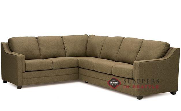 Palliser Corissa True Sectional Full Sleeper Sofa