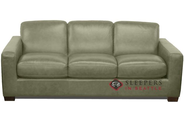 Natuzzi B534 Sleeper in Oregon Military Green (Queen)