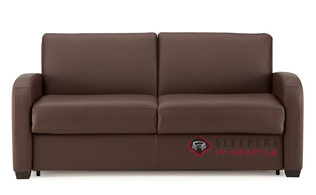 Palliser My Comfort Daydream Leather Sleeper Sofa (Full)