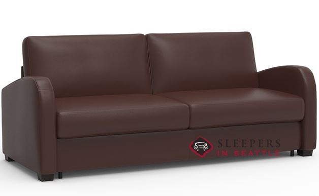 Palliser My Comfort Daydream 2-Cushion Leather Sleeper Sofa (Queen)