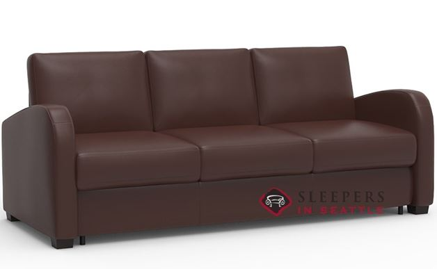 Palliser My Comfort Daydream 3-Cushion Leather Sleeper Sofa (Queen)
